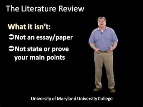 How to make review of related literature in thesis